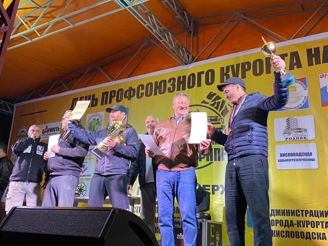 В Кисловодске прошли соревнования внедорожников в честь 30-летия ФНПР