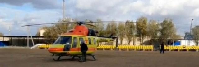 Санавиция доставила пострадавшую в аварии женщину из района в Ставрополь