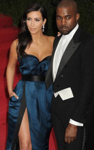 Ким Кардашьян разводится с мужем