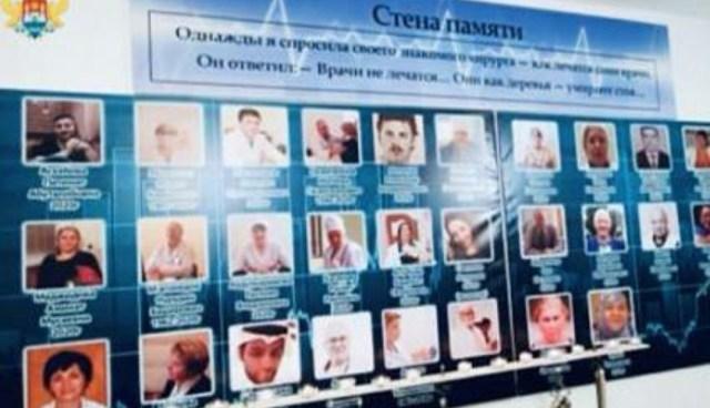 В Махачкале открыли музей медикам погибшим от COVID-19
