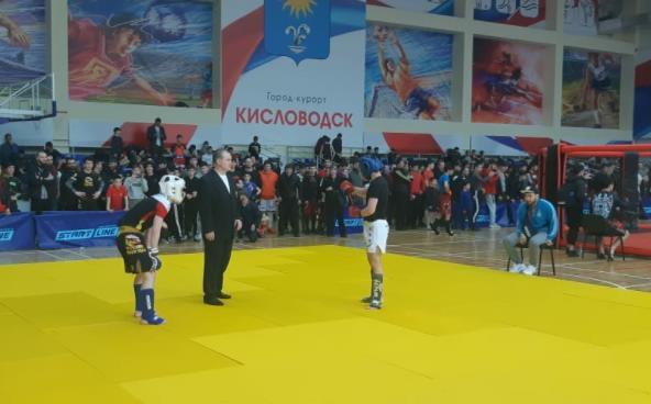 В Кисловодске прошел Открытый кубок Федерации ММА России по смешанным единоборствам