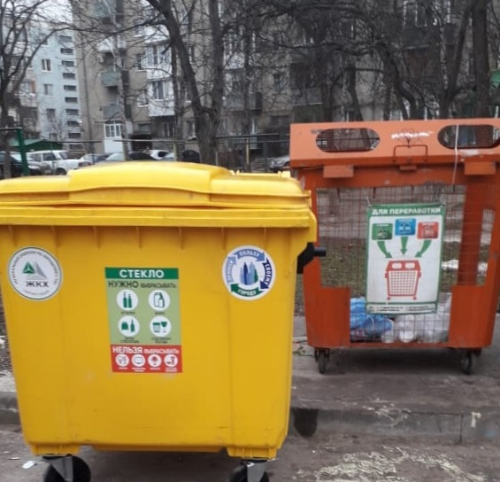 Спецбаки для стекла появились в Пятигорске