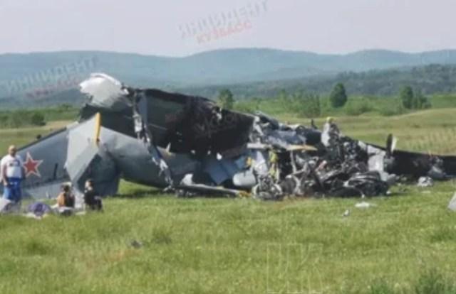 Самолёт с парашютистами разбился в Кемеровской области