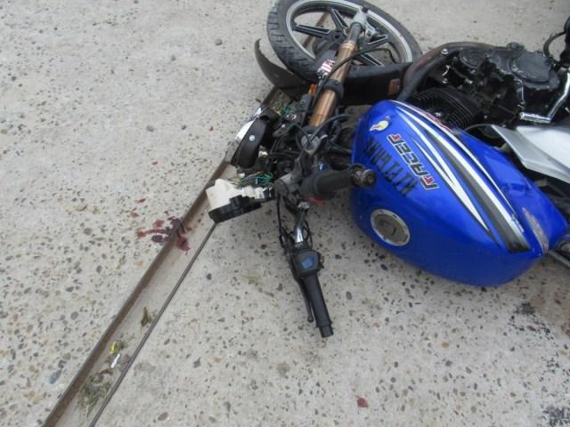 Юный мотоциклист-бесправник пострадал в аварии на Ставрополье