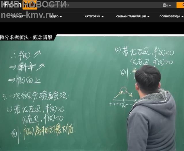 Преподаватель из Тайваня выкладывает на Pornhub лекции по математике