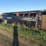 Автобус со ставропольскими студентами попал в аварию в Краснодарском крае