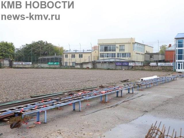 Пятигорские футболисты смогут играть на поле с подогревом