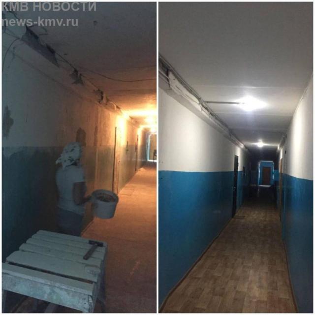 Пятиэтажку в Будённовске отремонтировали после жалобы губернатору