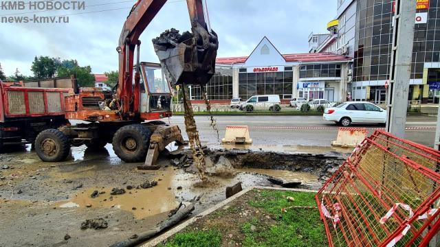 Более 17 тысяч жителей Невинномысска остались без отопления из-за аварии на трубопроводе