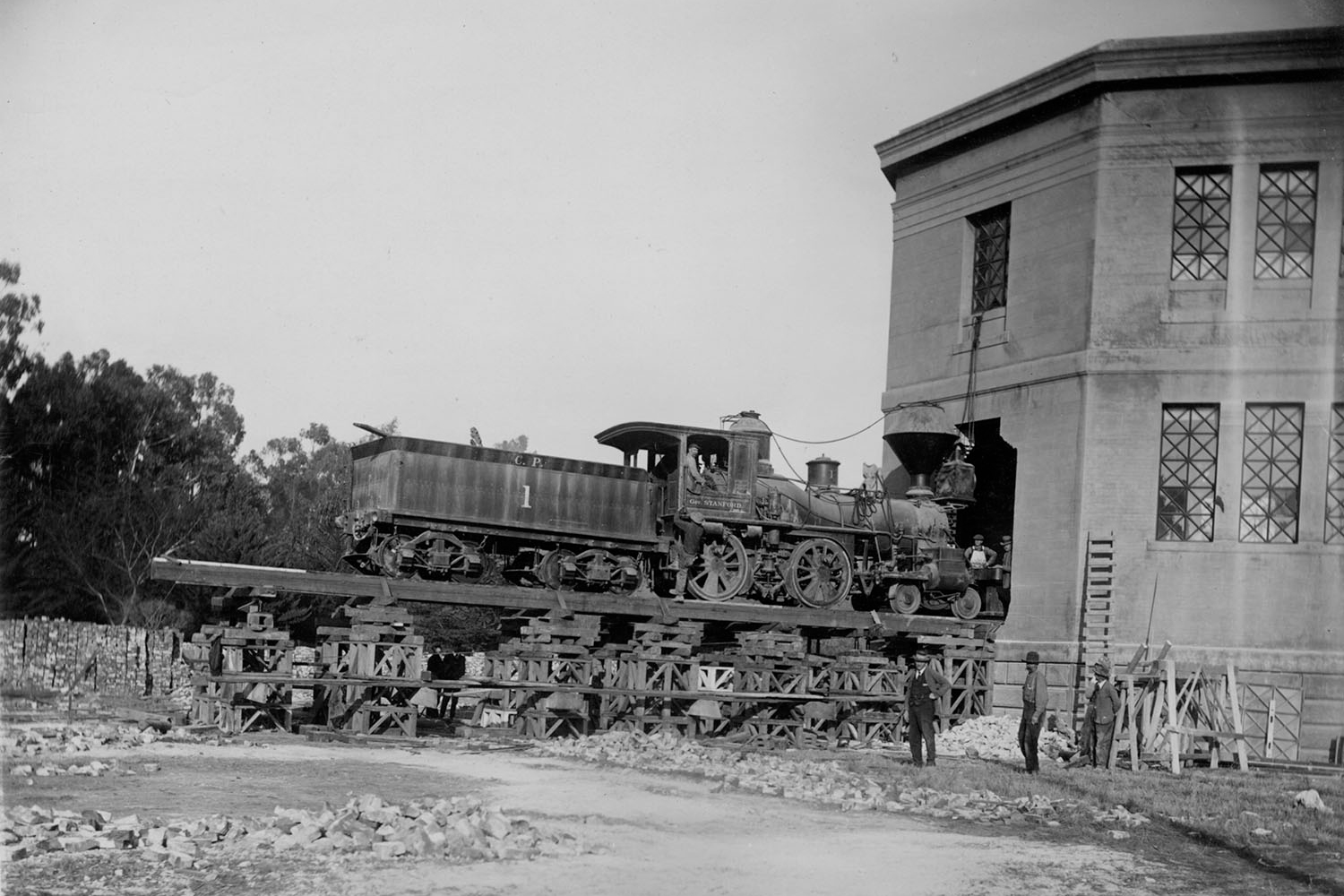 first transcontinental railroad and