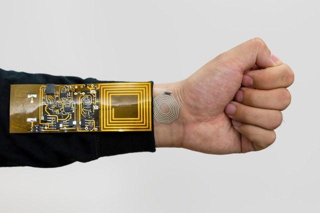 Stanford BodyNet flexible sensor to monitor body
