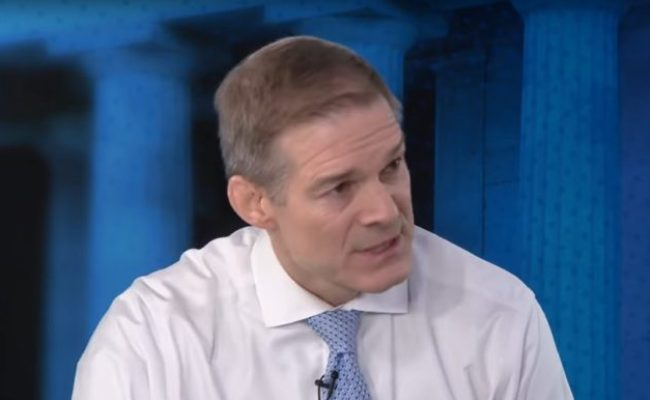 Jim Jordan Appears Right After Pelosi On Face The Nation