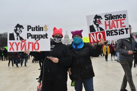 Putin$ Puppet. © 2017 Karen Rubin/news-photos-features.com
