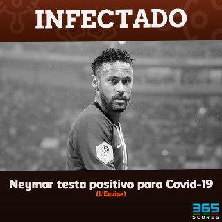 Neymar infectado