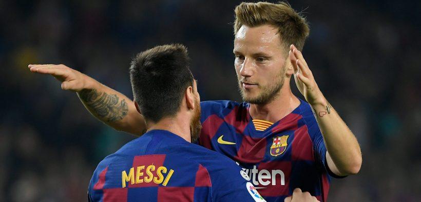 Rakitic e Messi