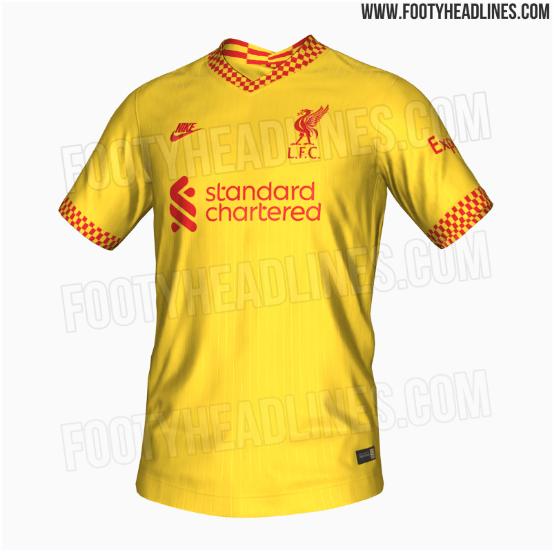 Liverpool uniforme