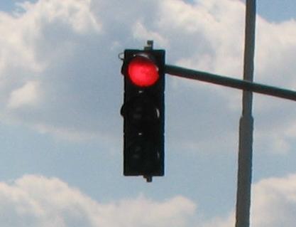 Semaforul de la Piață este defect