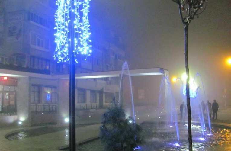 Iluminatul din Parcul Primăriei, în pregătire