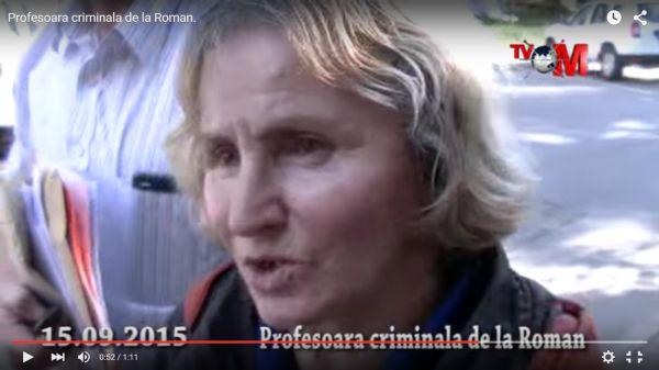 """Profesoara criminală, la """"La Măruță"""" (VIDEO)"""