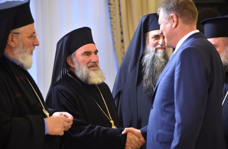 IPS Ioachim, față-n față cu președintele Iohannis