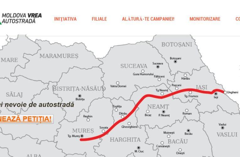 Semnează petiția: Autostrada Moldova!