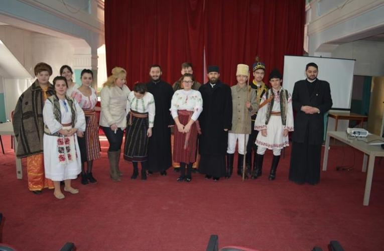 """Ziua Unirii Principatelor comemorată la Liceul Teologic """"Episcop Melchisedec"""" din Roman"""