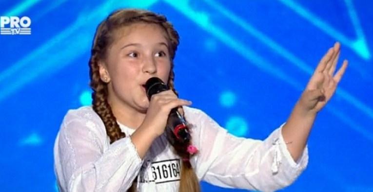 """[VIDEO] Diandra Bancu, calificată în show-ul """"Românii au talent"""""""
