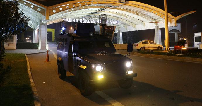 Аэропорты Стамбула будут охранять еще и снаружи