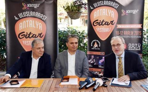4-й Международный фестиваль гитары пройдет в Анталии