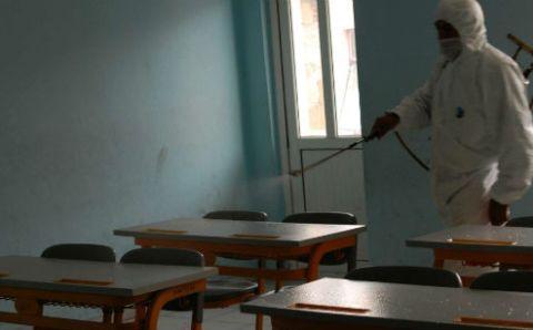 Школы Османие закрылись на карантин