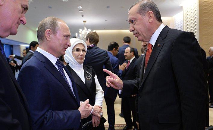 Эрдоган отправил письмо с извинениями в Кремль