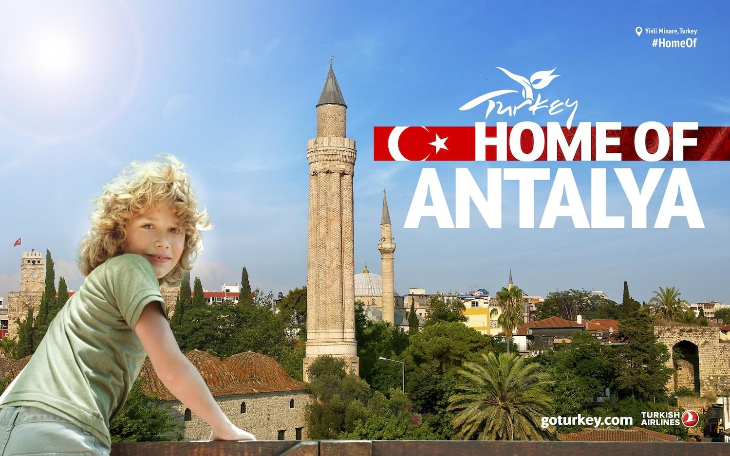 68% туристов в Анталии составили россияне и украинцы