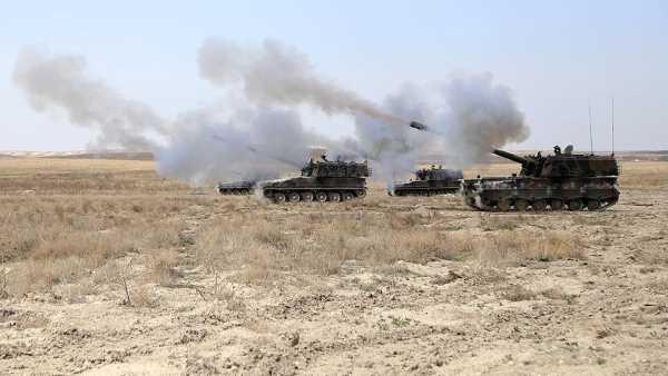 ВС Турции ответили ИГИЛ на обстрел Газиантепа