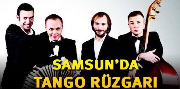 Российский «Соло Танго оркестр» даст концерт в Самсуне