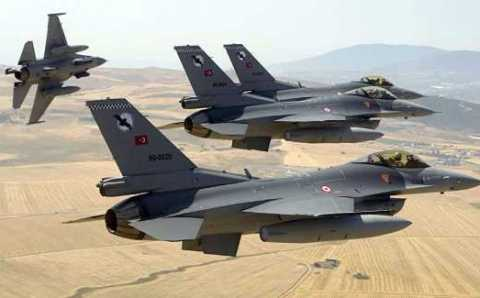 ВВС Турции и Саудовской Аравии проводят совместные учения