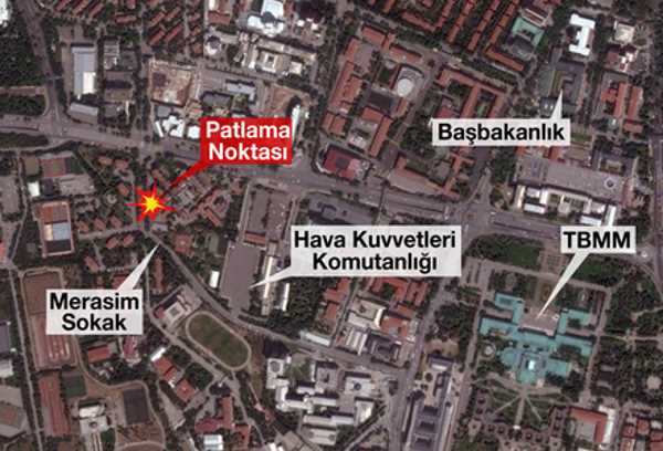«Ястребы свободы Курдистана» взяли на себя теракт в Анкаре