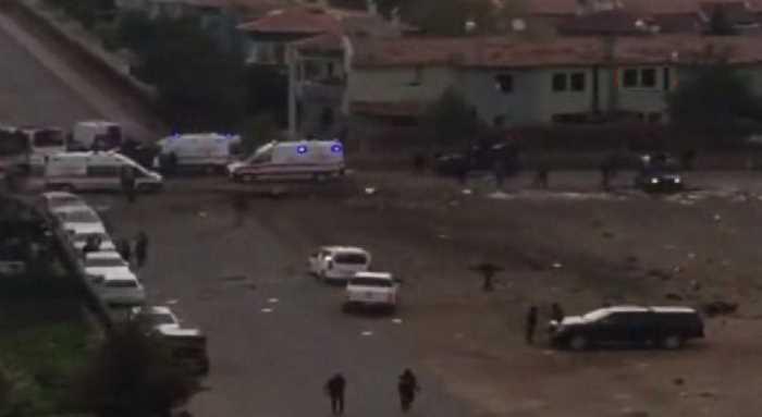 Подрыв полицейского автобуса: 7 погибших, 27 пострадавших