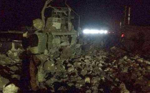 Подрыв поста жандармерии: 3 погибших, 22 пострадавших