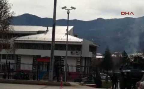 Здание суда в Тунджели было атаковано