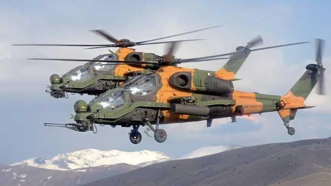 Вертолеты АТАК — ударная мощь Турции