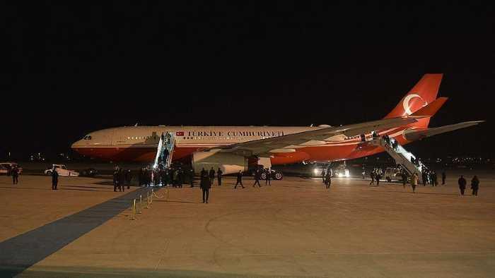Ахмет Давутоглу прибыл с визитом в Иорданию