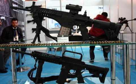 Турция представила новую пехотную винтовку