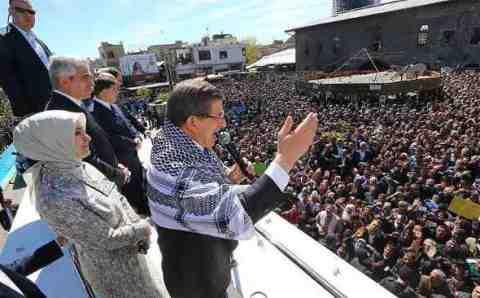 Премьер-министр выступил в Диярбакыре