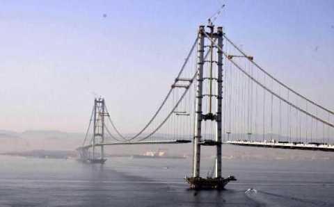 Мост-рекордсмен в Измите почти закончен
