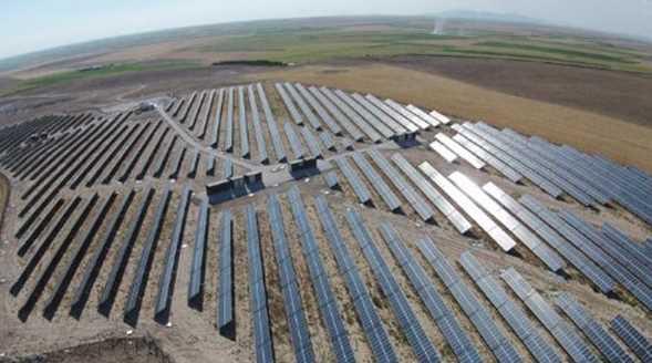Самая большая солнечная электростанция открывается в Конье