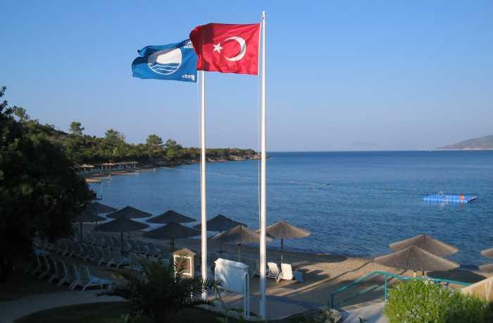444 пляжа Турции с «Голубым флагом» ждут туристов