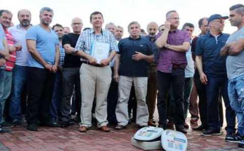Торговцы курортного Кемера вышли на митинг