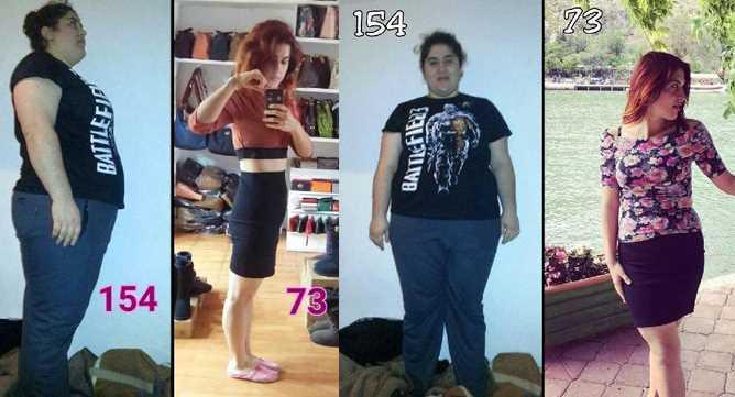 Девушка из Муглы похудела к лету на 81 кг