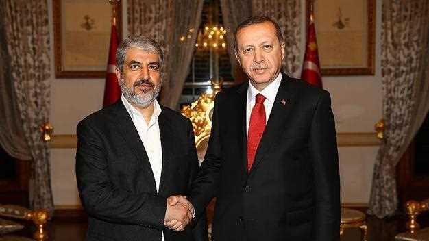 Президент встретился с лидером ХАМАС