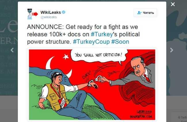 WikiLeaks: Первые публикации и моментальная блокировка